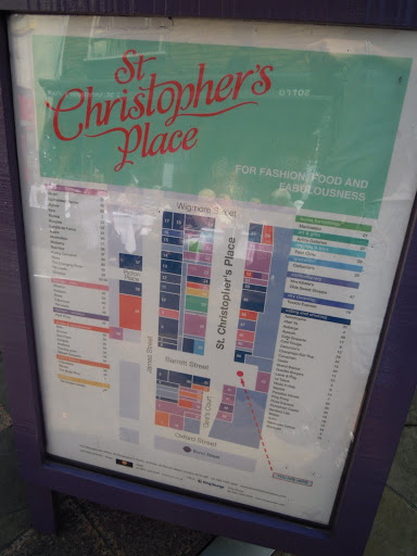 St. Christopher's Place - from shopping in London - a study abroad guide