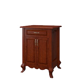 Orleans Nightstand with Doors