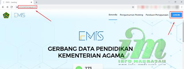 Cara Membuat Akun Kepala Madrasah di EMIS Madrasah 4.0