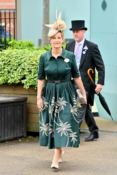The Countess of Wessex and Zara Tindall Lead the Glamour for Ladies' Day at Royal Ascot