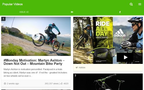 IMB Free Mountain Bike Mag- screenshot thumbnail