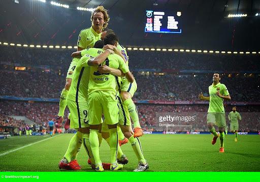 Hình 1: Bayern 3-2 Barca: Hùm xám tiễn Barca vào chung kết