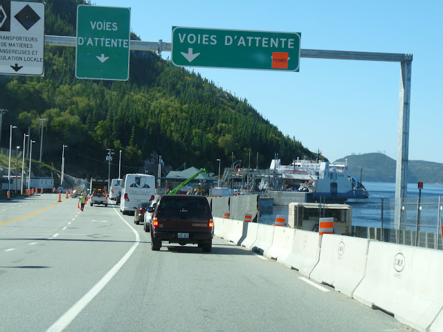 Crossing the Saguenay River at Baie Ste-Catherine / Tadoussac