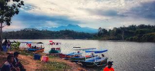 Wisata perahu logung kudus