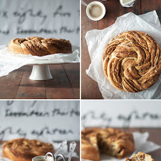 Braided Cinnamon and Pecan Bread