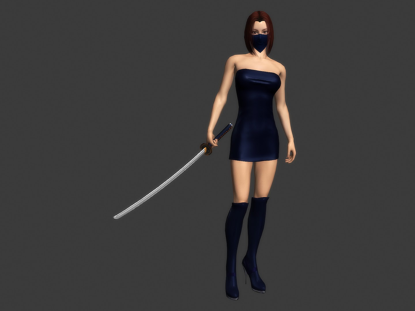 [3dFoin] New female ninja and 55% off sale :D 04