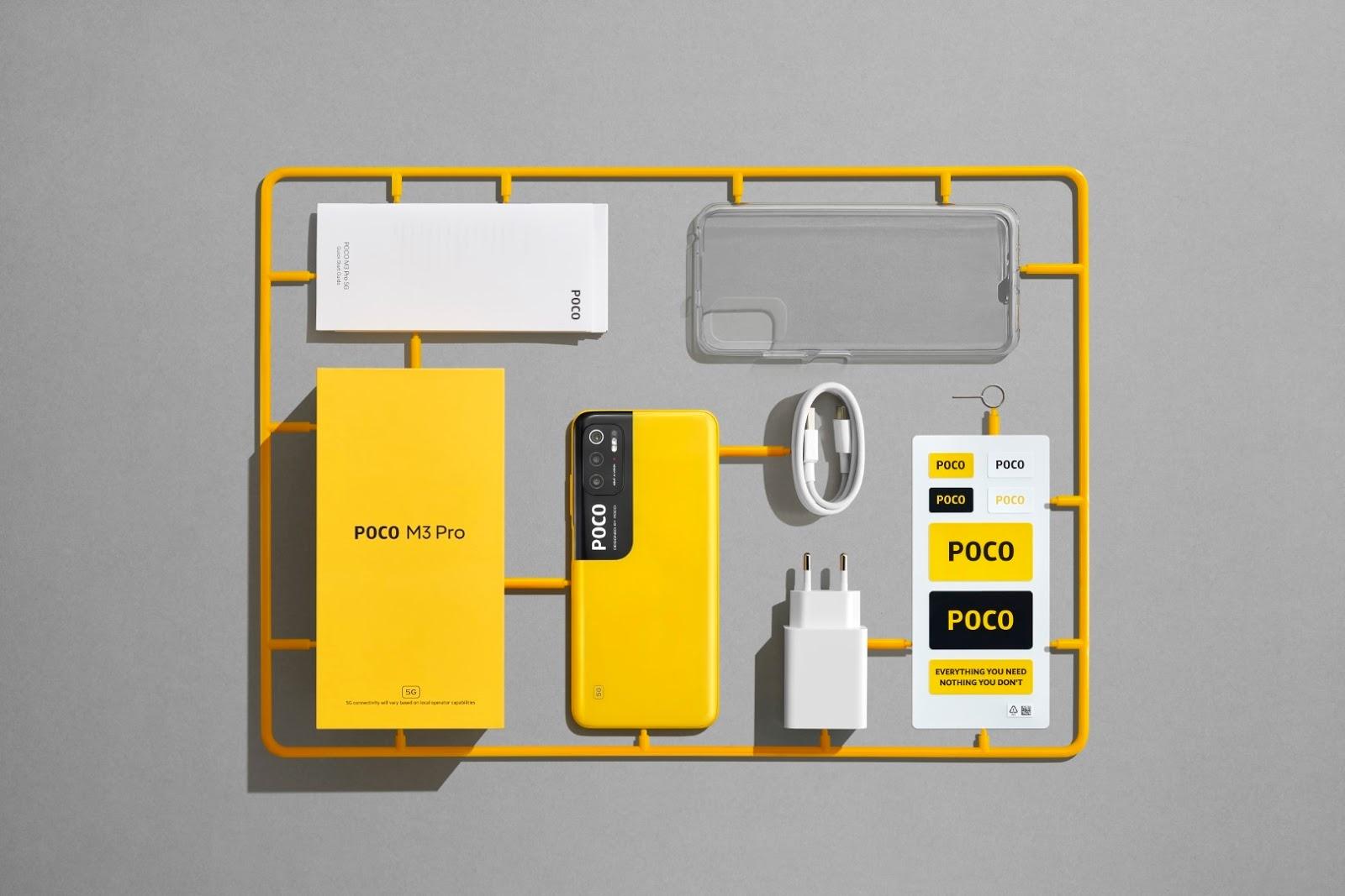 POCO เปิดตัว POCO M3 Pro 5G สมาร์ทโฟน 5G รุ่นใหม่ชูคอนเซ็ปต์ More Speed, More Everything พร้อมมอบประสบการณ์ความบันเทิงขั้นสุด