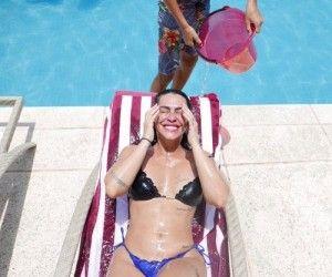 Foi cruel: Diz Cleo  sobre  ataques que sofreu ao engordar 20kg