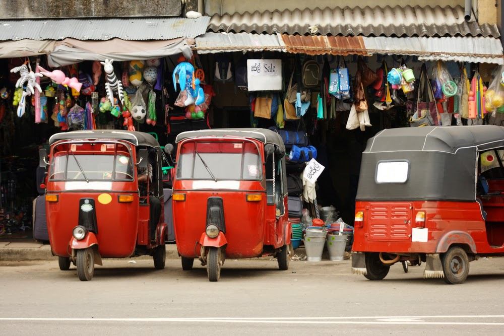 Tuk Tuk in Colombo City
