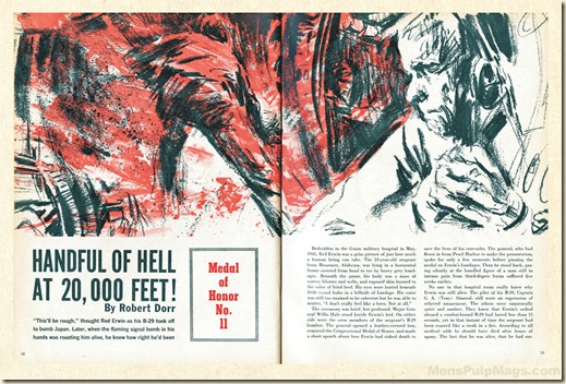 HANDFUL OF HELL, Robert F. Dorr p40 & 41 WM