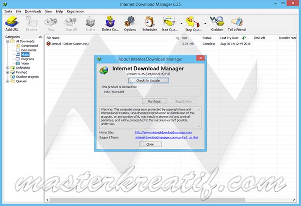 Internet Download Manager 6.25 Build 3 Full Crack