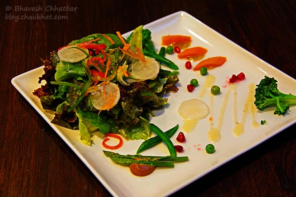 Green Wok Salad at Frisco, Koregaon Park, Pune