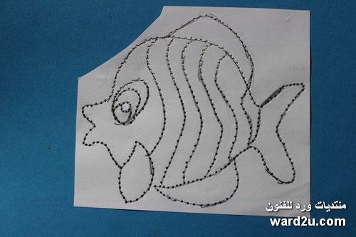 روائع استنسل على ورق ملون Amazing stencil art craft