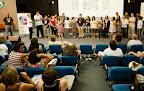 Lançamento da Campanha Bola na Rede e apresentação dos articuladores durante o VI Encontro RENAS em Luziânia (GO) em setembro de 2011