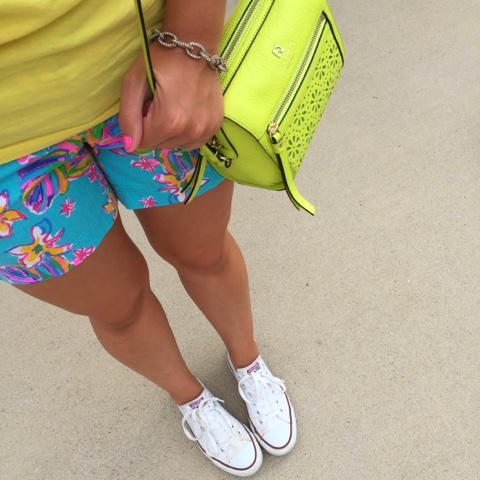 kate spade, lilly pulitzer, preppy style, how to wear converse shoes