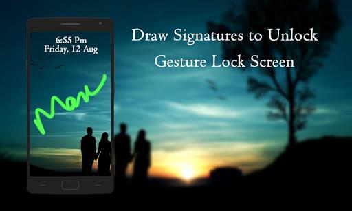 手势签名锁屏|玩個人化App免費|玩APPs