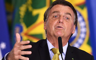 Bolsonaro culpa os governadores pelo alto preço dos combustíveis