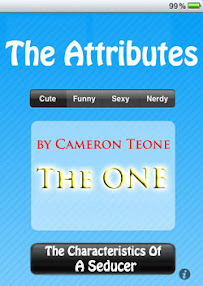 Cover of Cameron Teone's Book The Attributes The Characteristics Of A Seducer