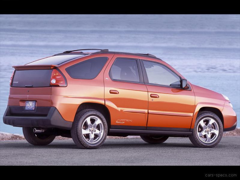 2004 Pontiac Aztek Suv Specifications Pictures Prices