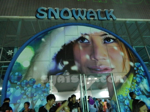 snowalk i-city shah alam