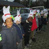 Sint en Piet bezoeken onze school