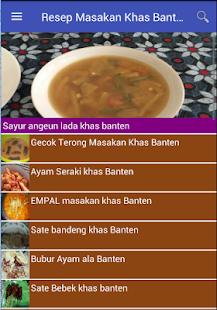 Resep Masakan Khas Banten - náhled
