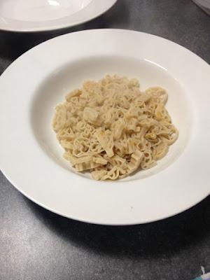 Gluten Free pasta in a pasta bowl - Rachel Bustin