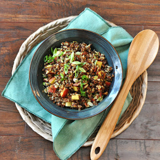 Curried Apple Quinoa Salad