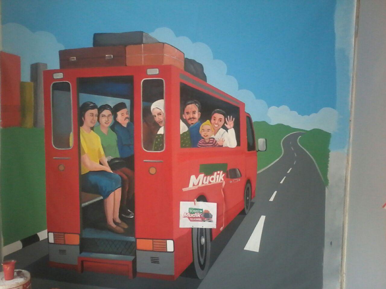 Jasa Pembuatan Lukisan Mural Dinding Sekolah Seperti Nyata