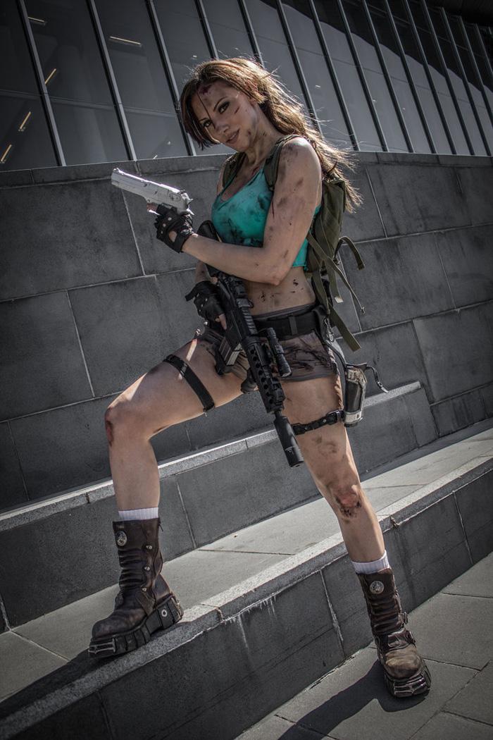 """Bộ ảnh cosplay tuyệt vời về """"siêu điệp viên"""" Lara Croft - Ảnh 2"""