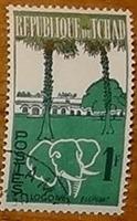 timbre Tchad 001