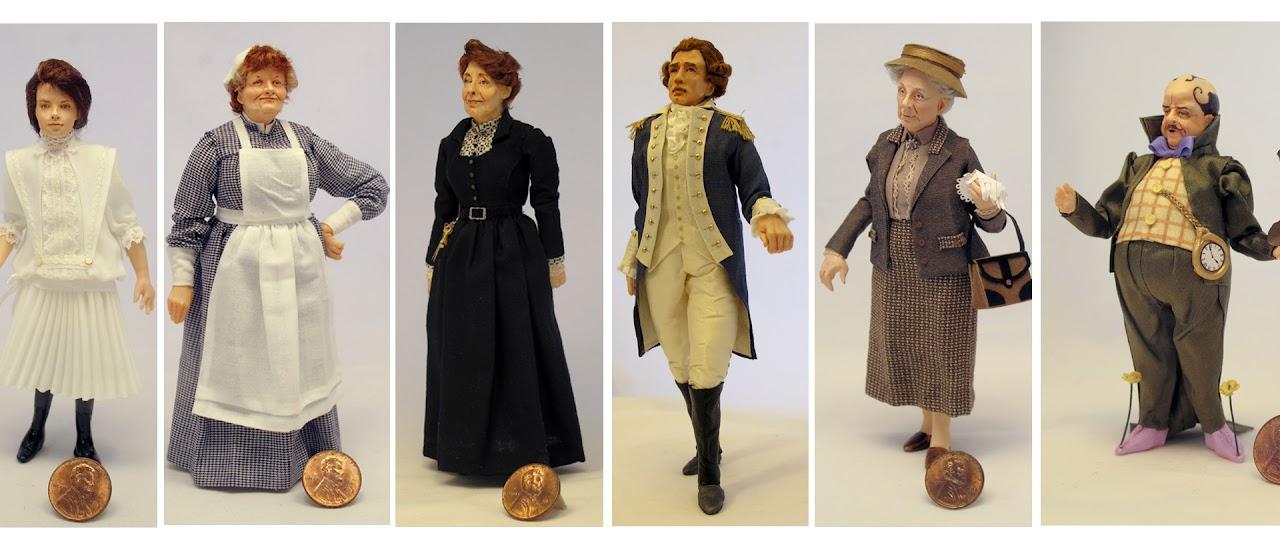 Realistic Miniature Dolls