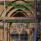 Kirchturmsanierung Melle 08.2017