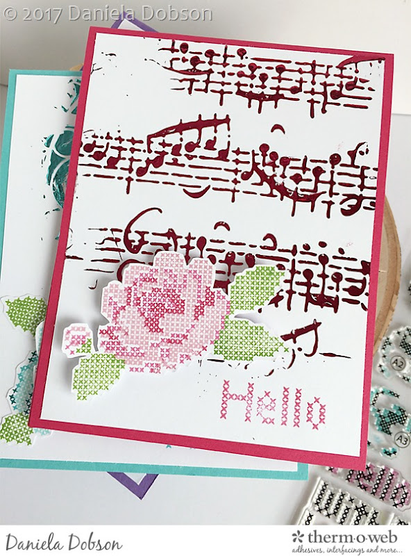 Hello card set by Daniela Dobson
