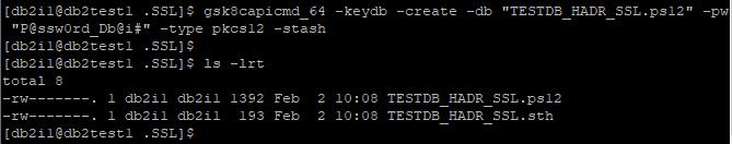 Create Local KeyStore