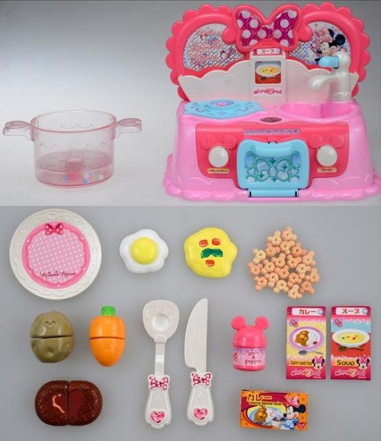 Bộ đồ chơi nhà bếp đáng yêu Minnie Big Pot Lovely Kitchen