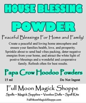 House Blessing Hoodoo Powder Used For Protect Family Clear Vibes