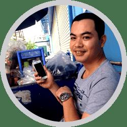 phản hồi của khách hàng về Iphone của longmobi.com