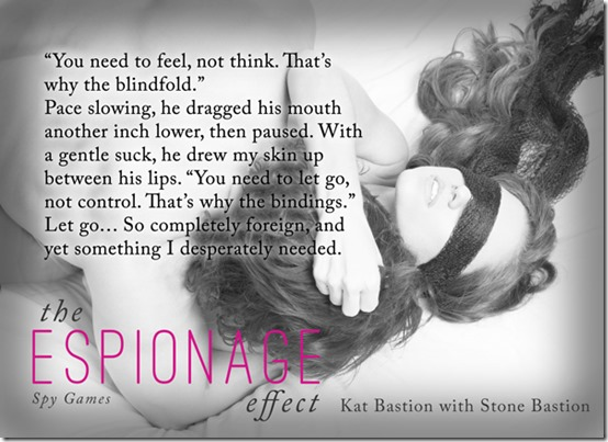 Teaser Pic The Espionage Effect - Blindfold