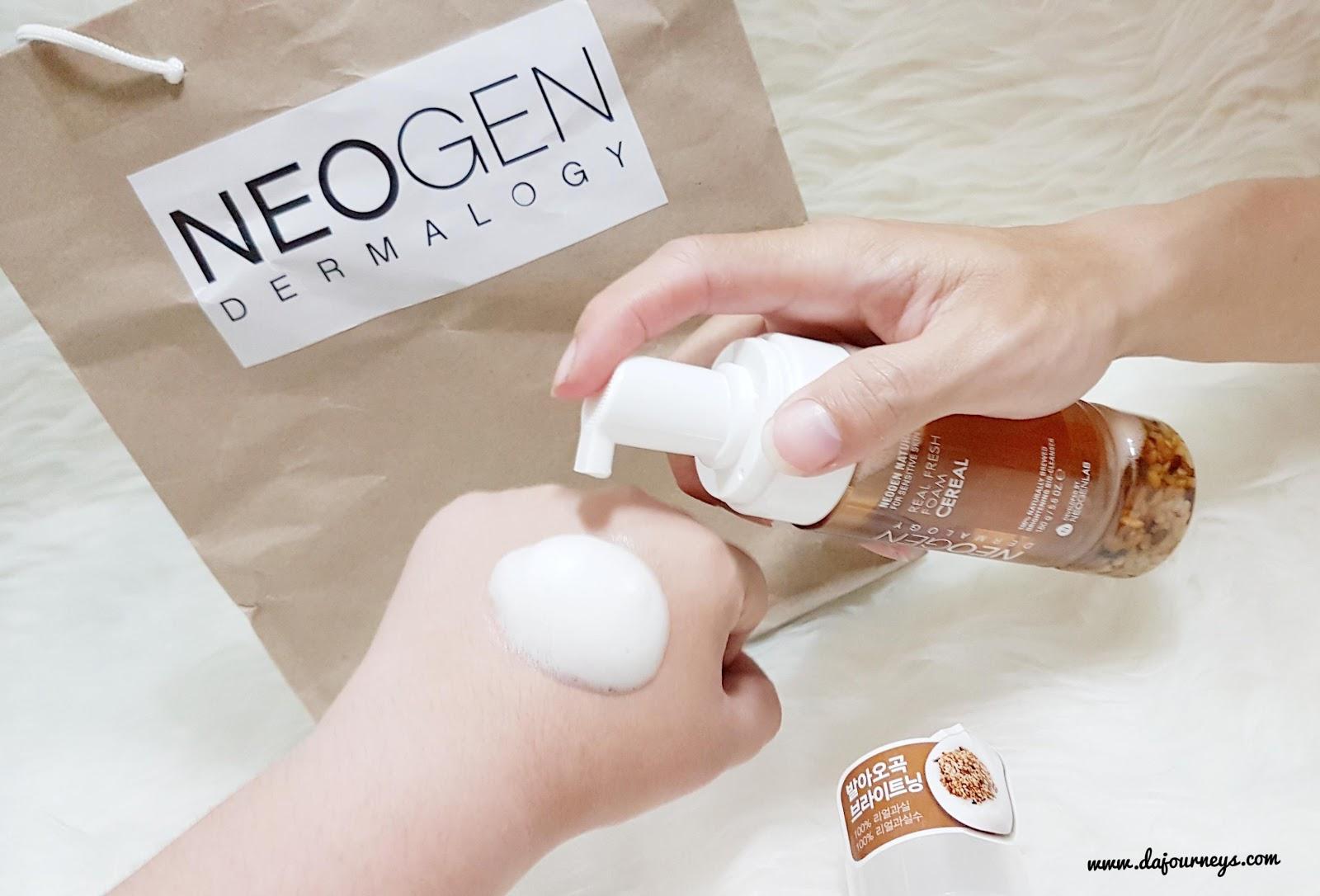 Review Neogen Bio Peel Gauze Peeling Wine And Real Fresh Dermalogy Foam Cranberry 160ml Cereal