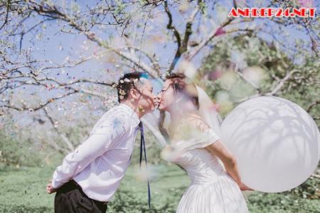 Ảnh cưới ở Mộc Châu của cặp đôi Đài Loan cầu hôn bằng đồng hồ
