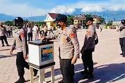 Biro SDM Polda Sulteng Lakukan Gerakan Seribu Rupiah