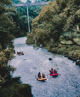 Sungai Elo Rafting magelang