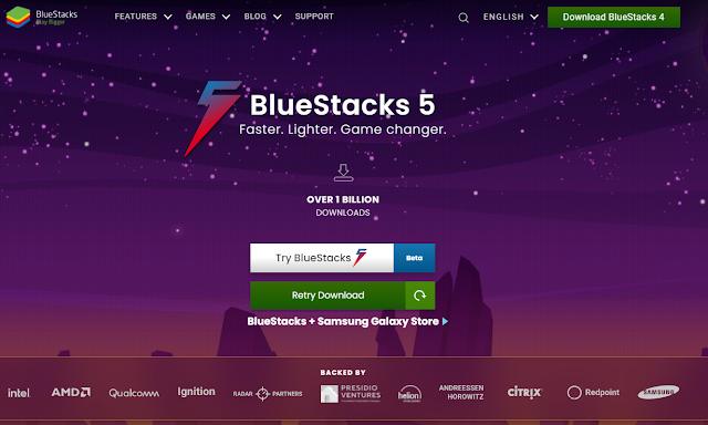 تحميل محاكي الأندرويد BlueStacks