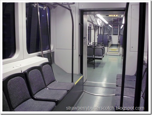 Empty Train Car