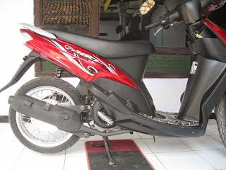 Cara Modifikasi Mio Sporty Velg 17