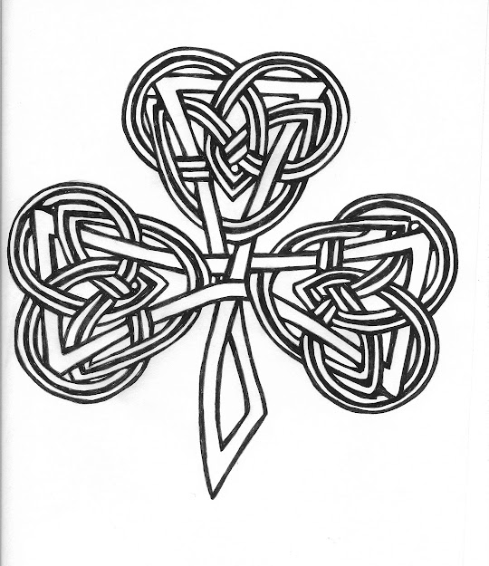 Celtic Knot Shamrock Will Have This Tattoo On My Foot This Year