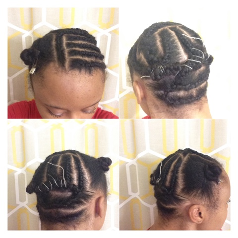Desire My Natural Natural Hair Inspiration Brilliant Beauty Crochet Braids Sidecornrows Faux Shaved Side