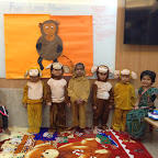 Rhyme Enactment - 5 Little Monkeys by Nursery Section at Witty World (2015-16)