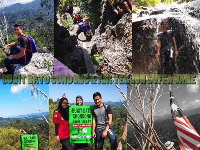 Hiking Bukit Batu Condong & Air Terjun Sofea Jane, Kemensah